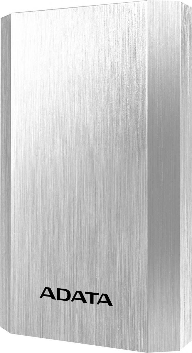 ADATA A10050 Power Bank 10050mAh stříbrná - stříbrná AA10050-5V-CSV