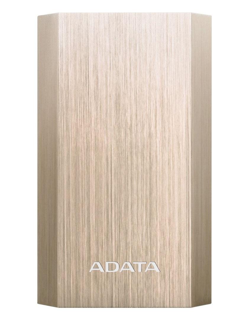 ADATA A10050 Power Bank 10050mAh - zlatá AA10050-5V-CGD