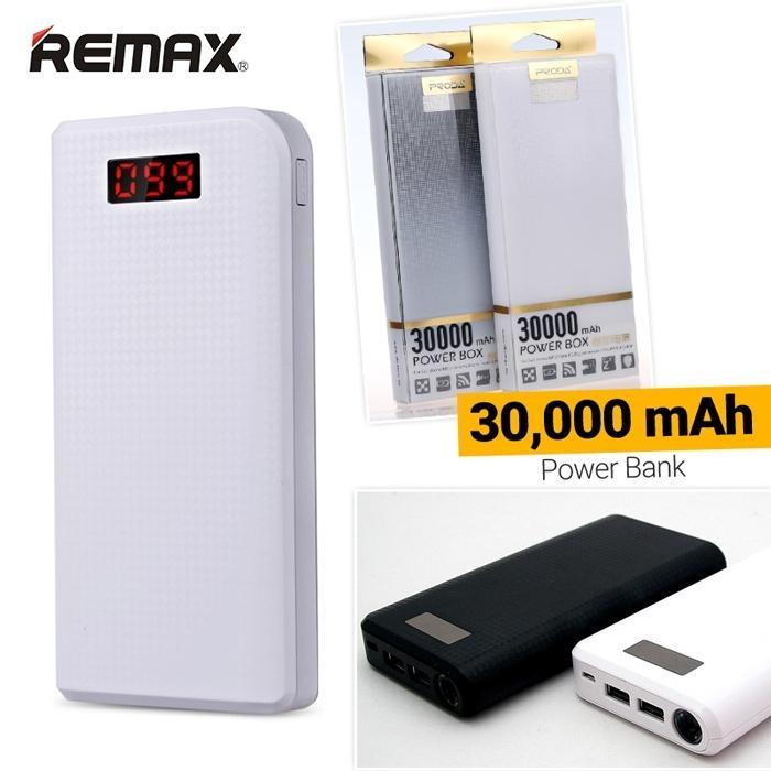 Remax Proda PowerBank 30000mAh, - bílá