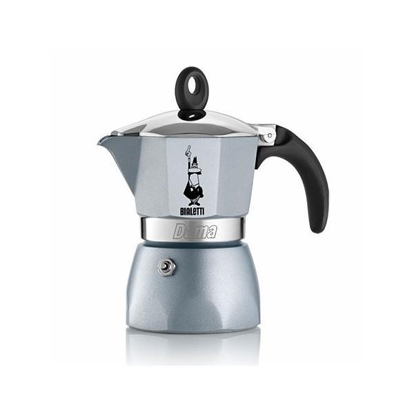 Bialetti hliníkový kávovar Dama Glamour, 3 šálky - azurový