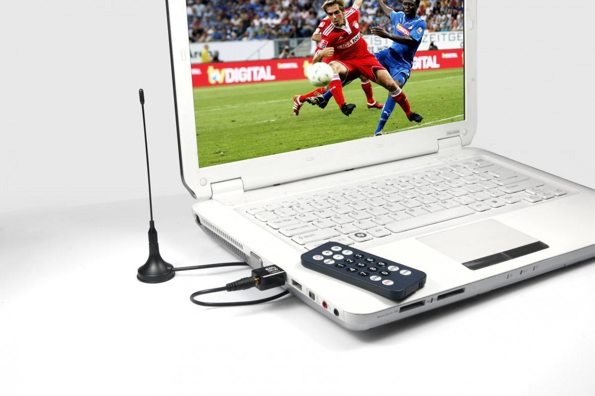 Externí mini USB tuner Technaxx - DVB-T přijímač, HDTV, MPEG2/MPEG4, H.264 (DVB S6) 3587