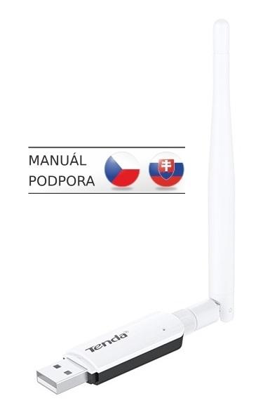 Tenda U1 Wireless-N USB Adapter, 300Mb/s, 3,5dBi U1