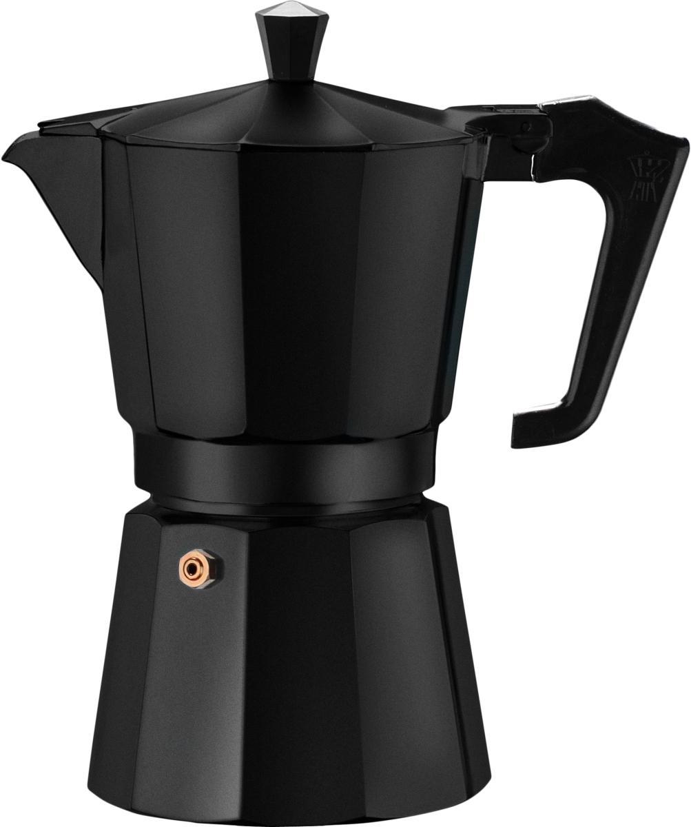 Pezzetti hliníkový kávovar Italexpress, 3 šálky - černý
