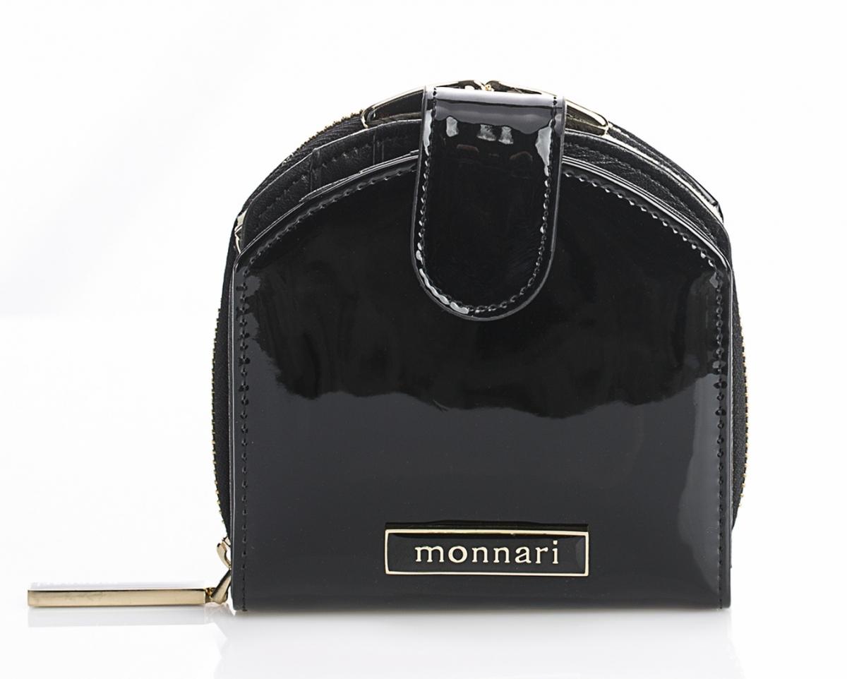 Dámská peněženka z pravé kůže Monnari 0120, černá