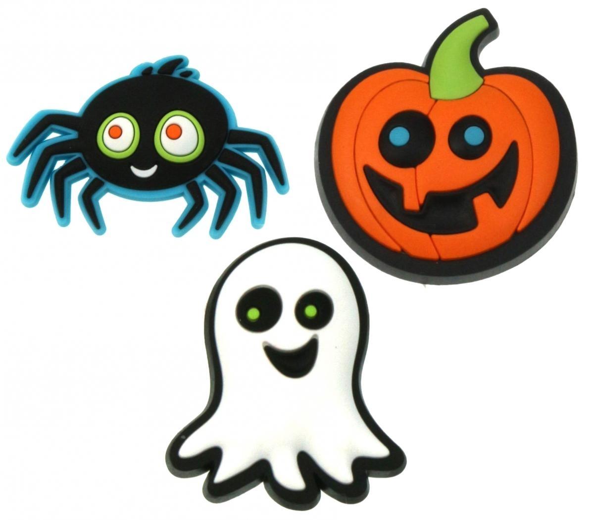 Jibbitz odznáčky na boty Crocs Spooky Fun, 3ks