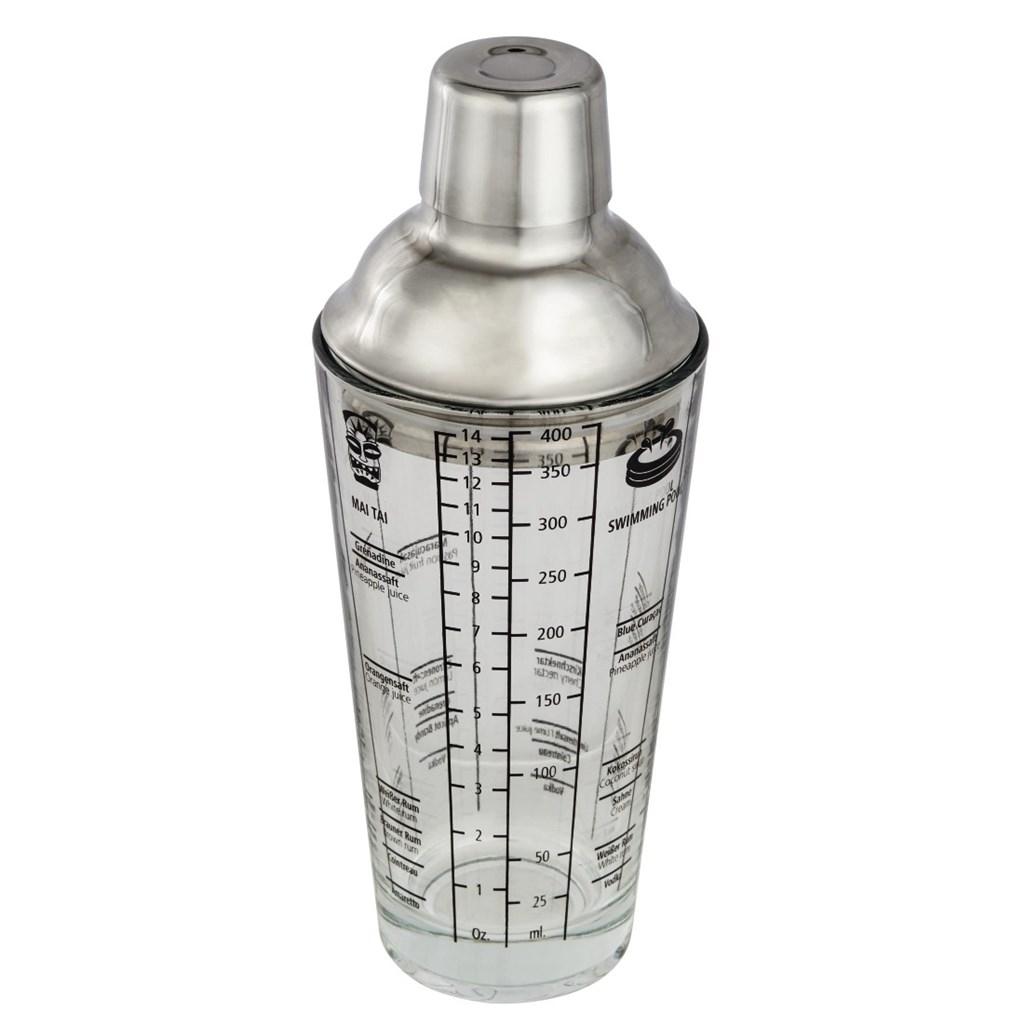 Xavax skleněný šejkr se stupnicí, 400 ml