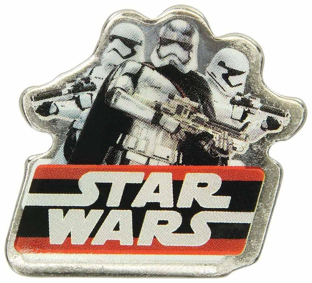 Jibbitz odznáček na obuv Crocs Star Wars Dark Side Badge