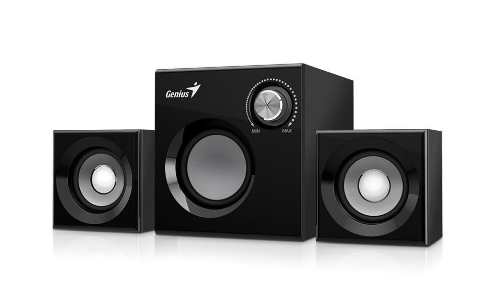 Speaker GENIUS SW-2.1 370 BLK SPK 8W (6W+1W X 2) 31731067100
