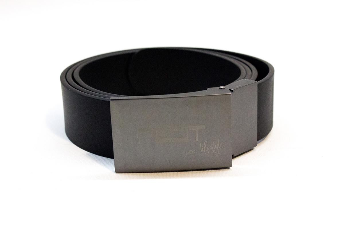 Pelt Professional opasek s kovovou přezkou, černý