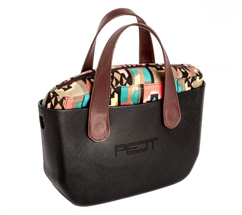 Pelt Pimp+ Medium kabelka, černá