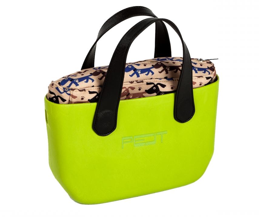 Pelt Pimp+ Medium kabelka, světle zelená