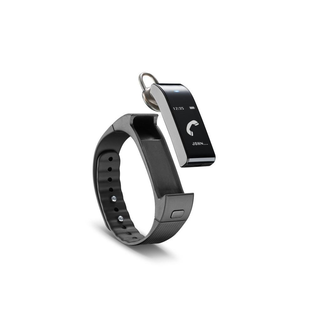 Bluetooth fitness náramek s odnímatelným headsetem CellularLine EASYFIT TOUCH TALK, černý BTEASYFTOUCHTALKK