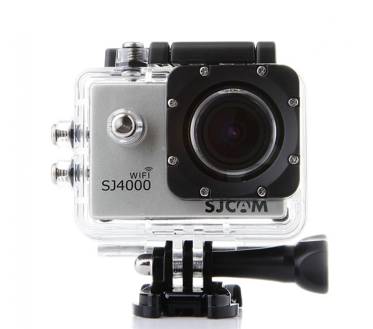 Akční kamera SJCAM SJ4000 WiFi - stříbrná
