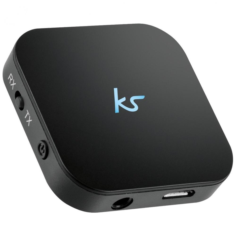 Bluetooth music adaptér KITSOUND, vysílač i přijímač, 3.5mm jack KSBMABK