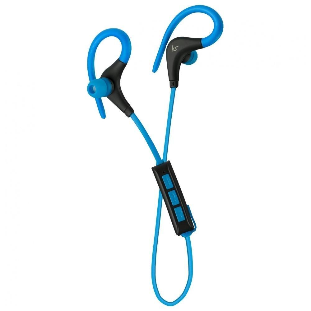 Sportovní bezdrátová sluchátka KitSound Race - modrá KSRACBL