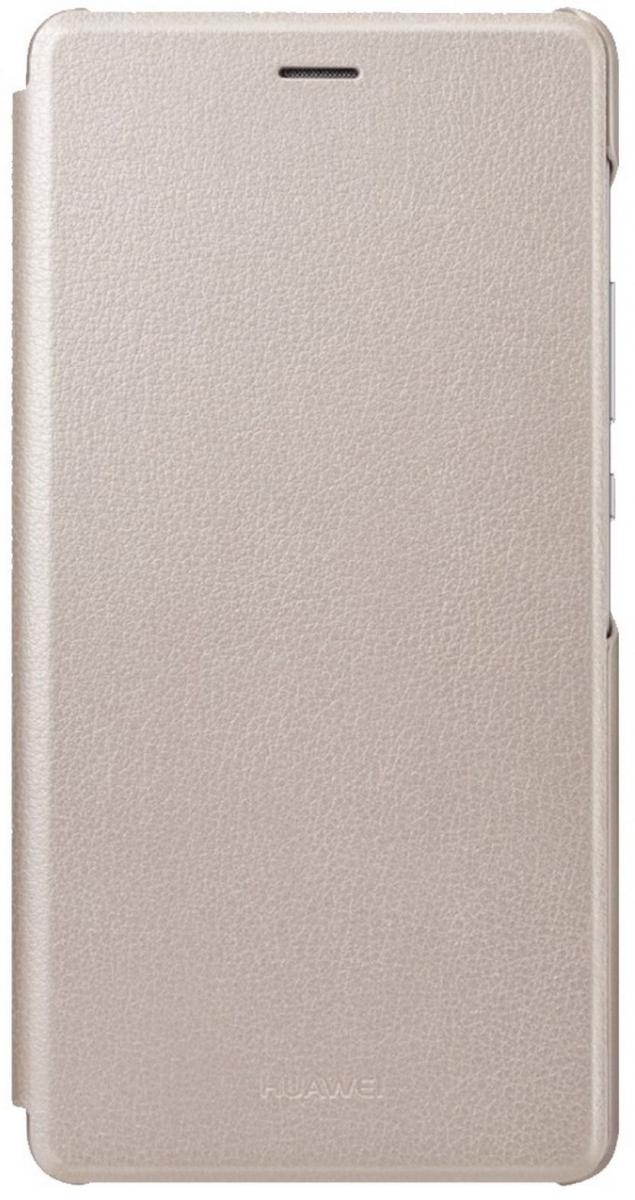 Flip pouzdro Huawei Original Folio pro P9 Lite - zlaté