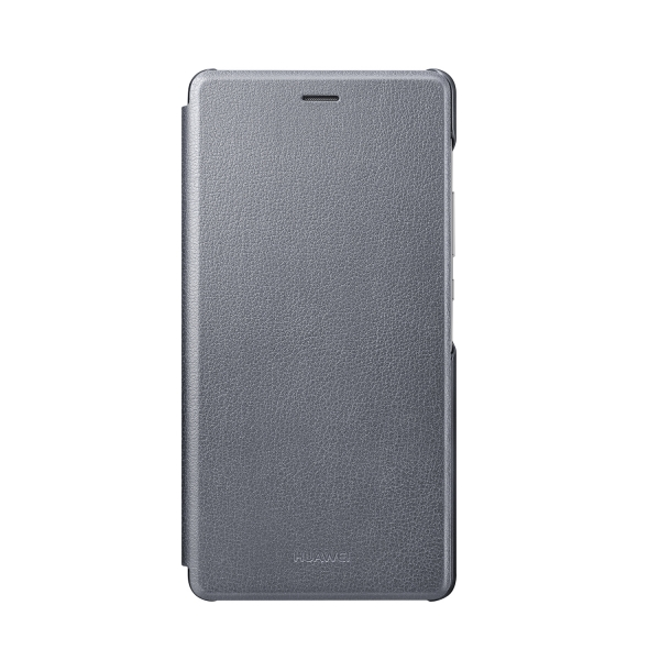 Flip pouzdro Huawei Original Folio pro P9 Lite - šedé
