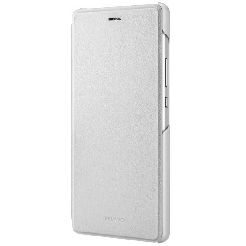 Flip pouzdro Huawei Original Folio pro P9 Lite - bílé