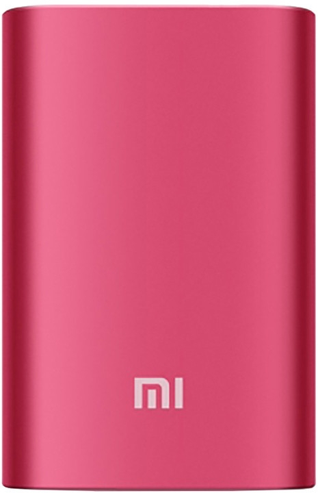 Xiaomi Mi Power bank 10000 mAh - červená