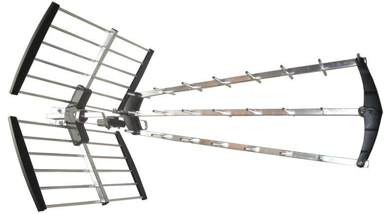DVB-T anténa Solight HN53-LTE s LTE/4G filtrem, 17 dB, 21.-60. kanál UHF