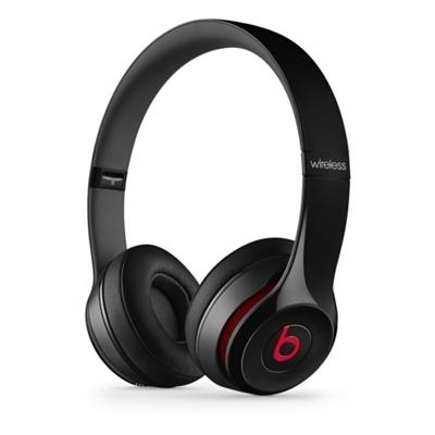 Apple Beats by Dr. Dre Solo 2 Wireless On-Ear Headphones Black - černá MHNG2ZM/A