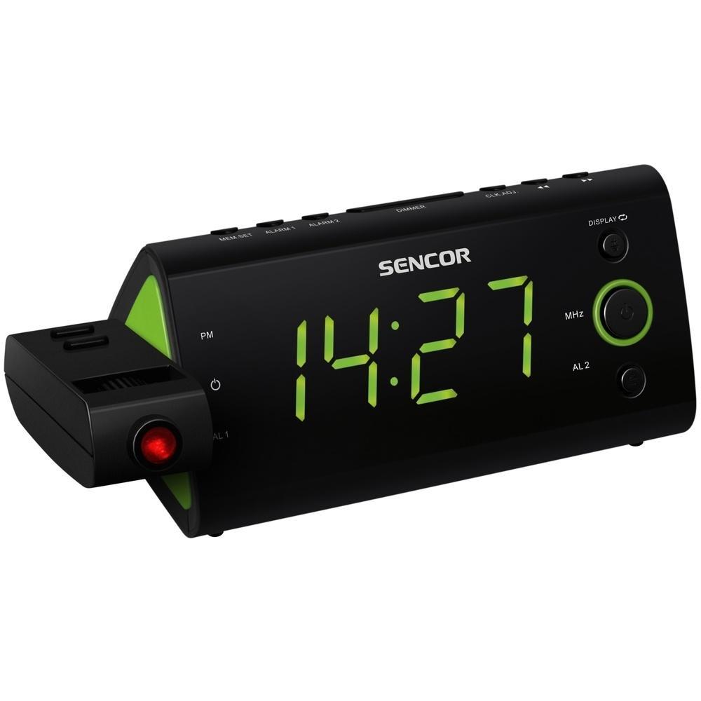 Radiobudík s projekcí SENCOR SRC 330 GN - zelený