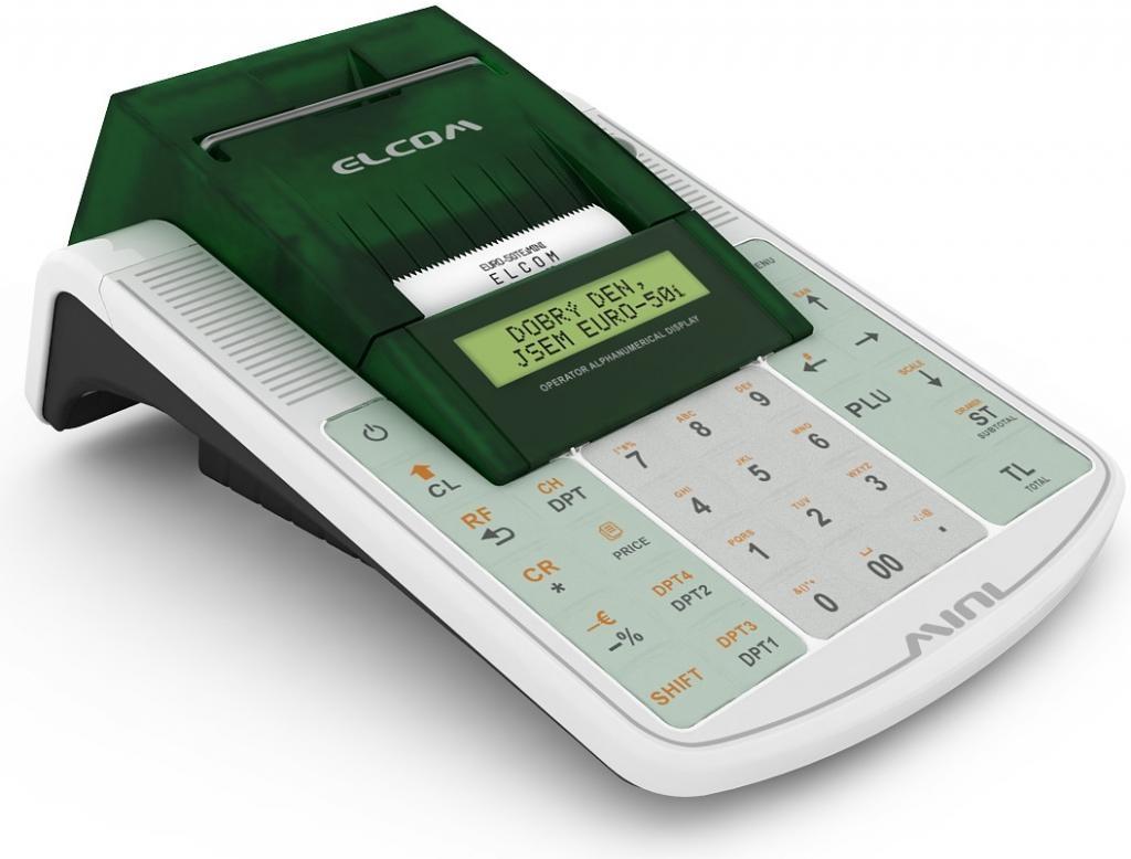 Mobilní EET pokladna Elcom Euro-50TEi WiFi CZ V0123030062