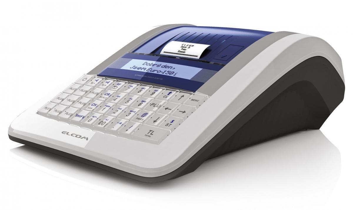 Mobilní EET pokladna Elcom Euro-150TEi Flexy CZ WiFi V0126030062
