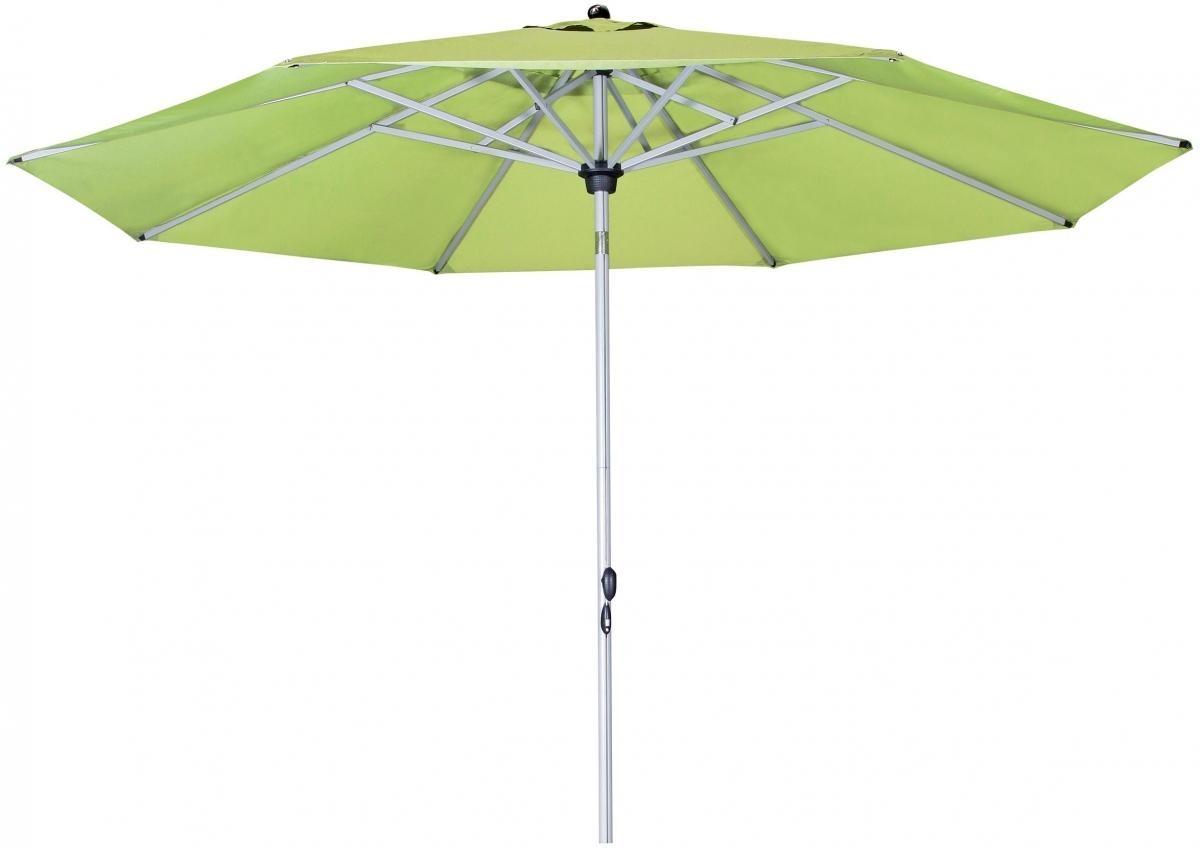 Zahradní slunečník Doppler Active Tele 340 - Zelená