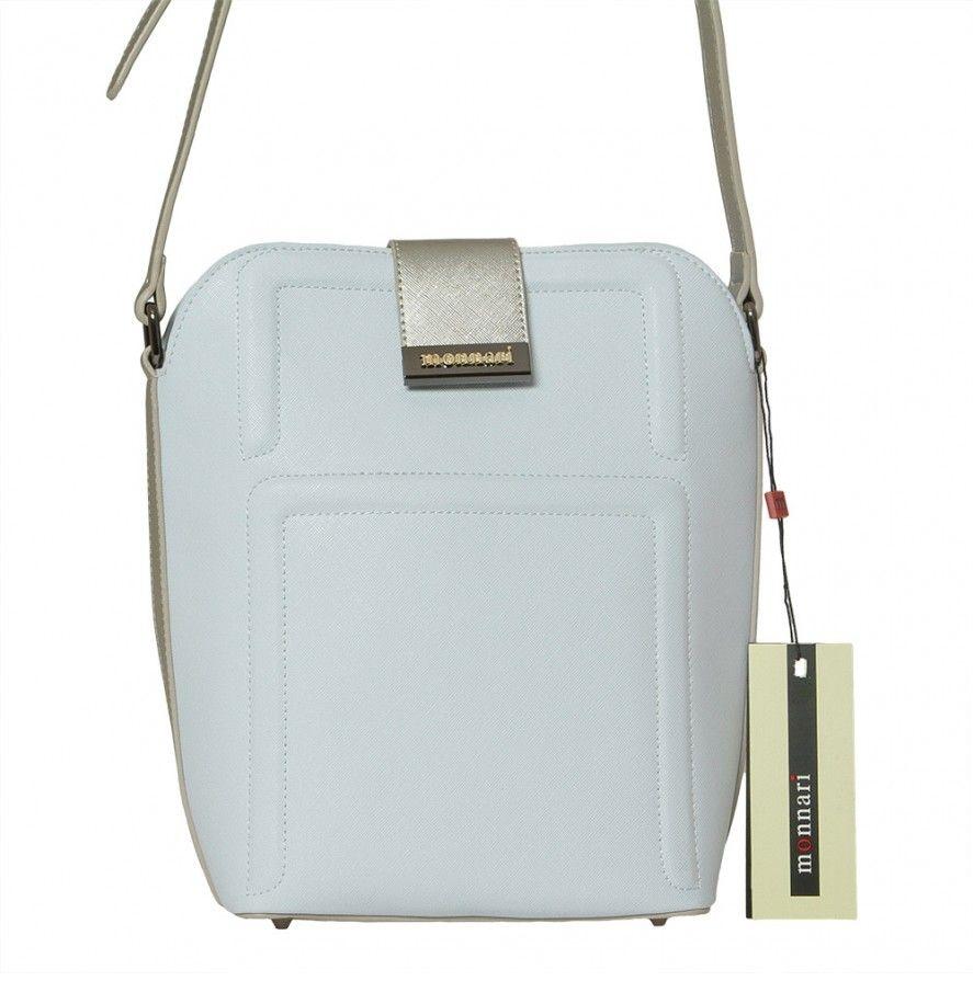 Crossbody kabelka Monnari 2100, modrá