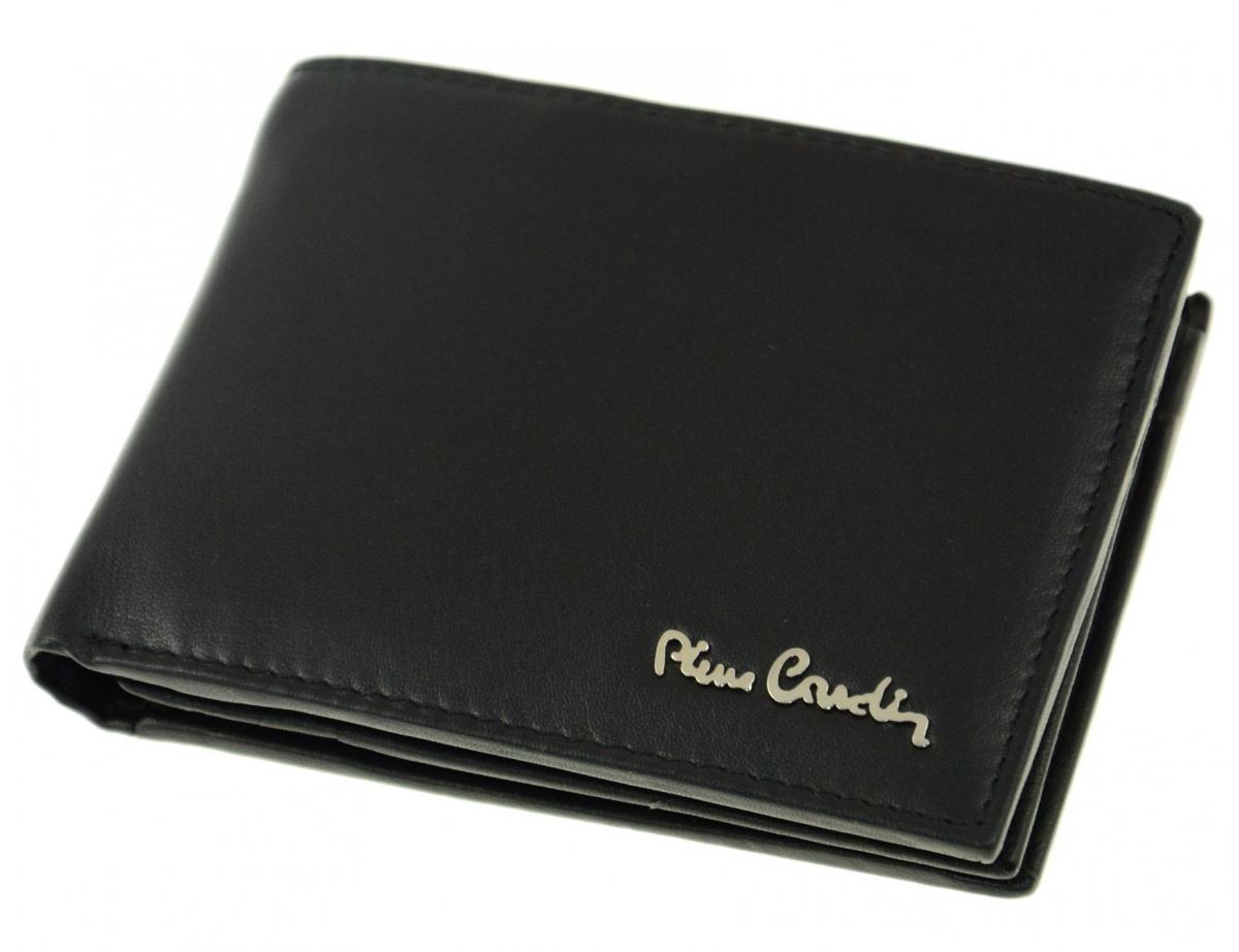 Pánská peněženka z pravé kůže Pierre Cardin 8806, černá