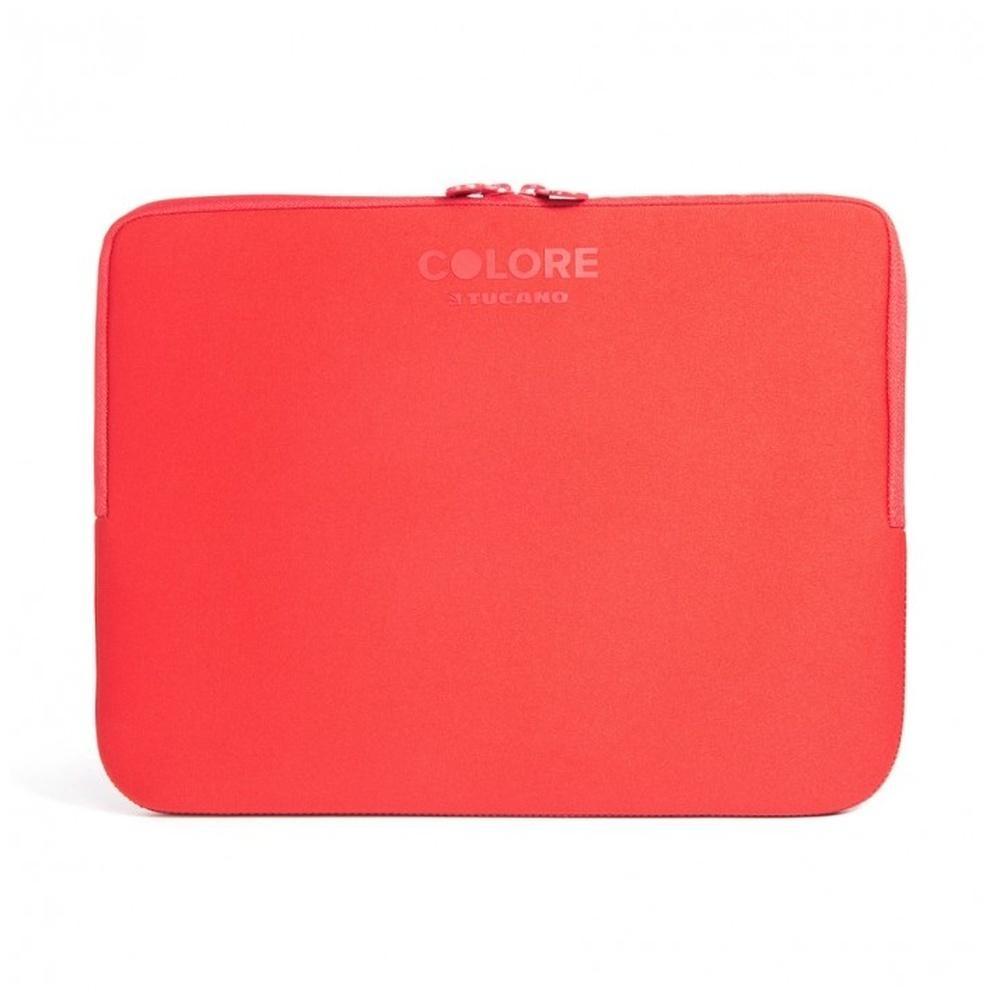 "Neoprenový obal TUCANO COLORE, pro notebooky a ultrabooky do 15,6"", Anti-Slip Systém®, červený BFC1516-R"