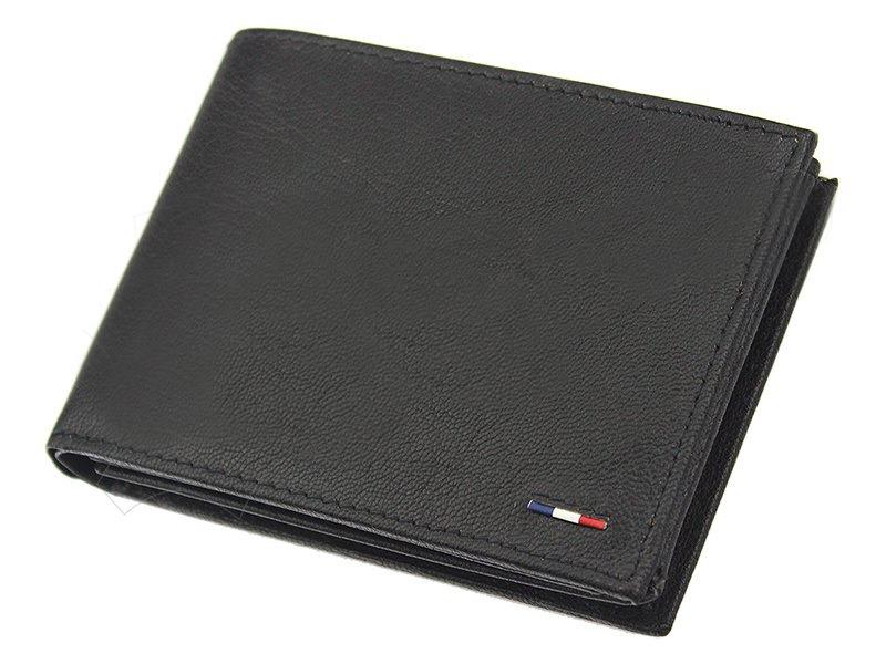 Pánská kožená peněženka Loren N992-NYC, černá