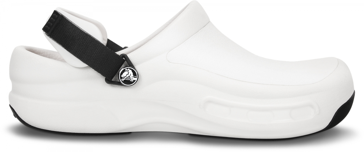 Crocs Bistro Pro Clog - White, M8/W10 (41-42)