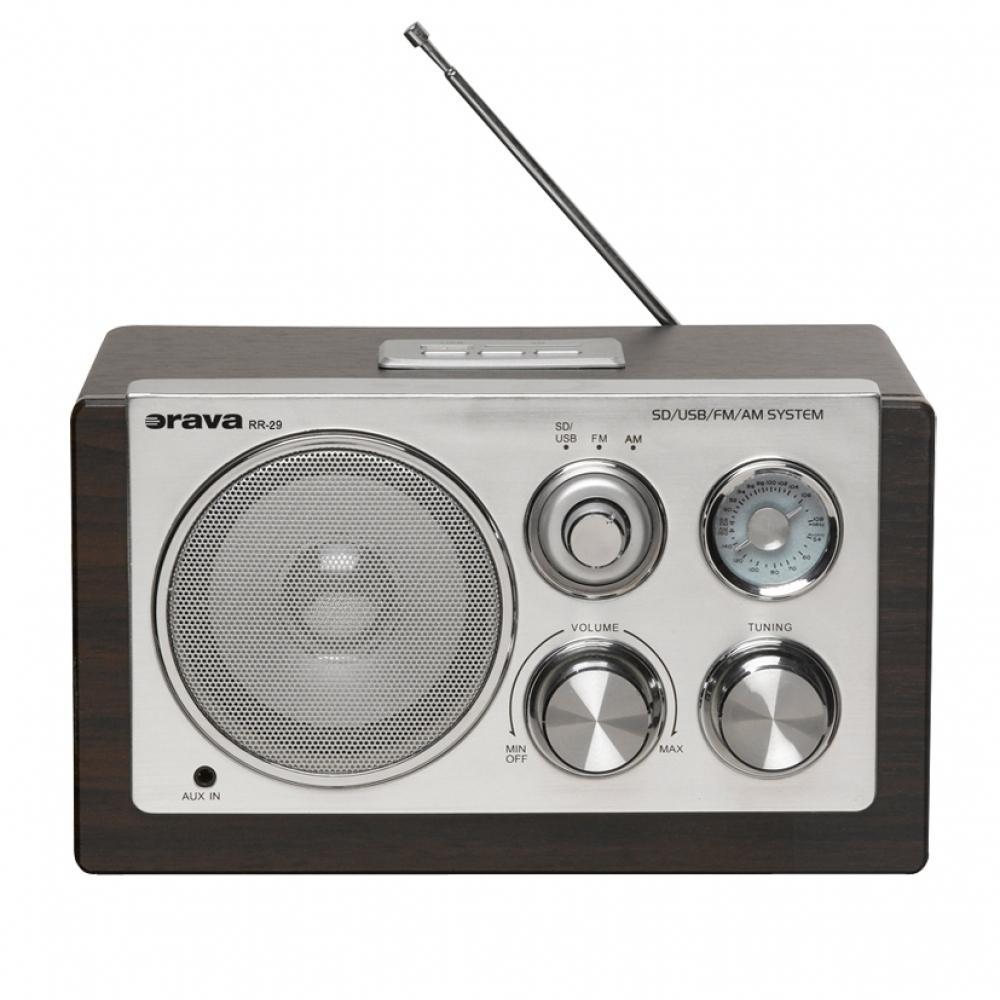 Retro rádio Orava RR-29 s AUX/USB/SD 8586016722553