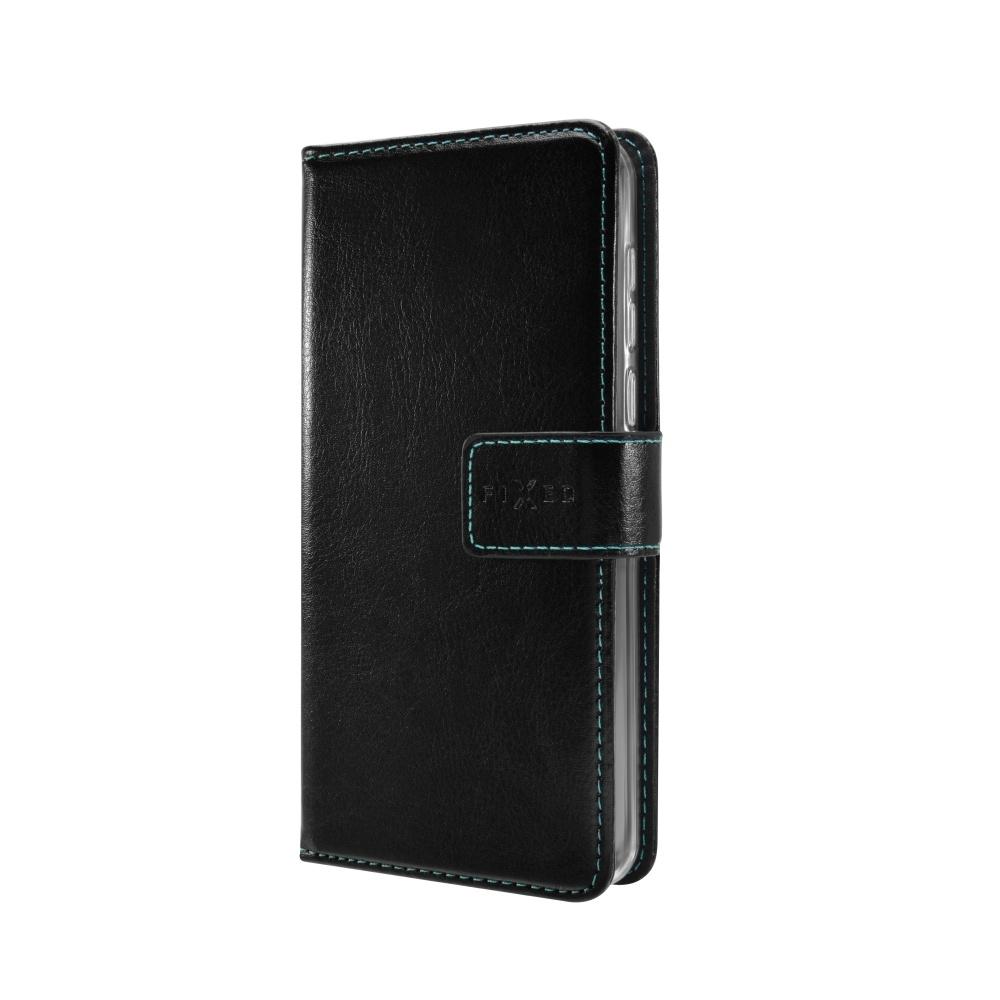 Pouzdro typu kniha FIXED Opus pro HTC Desire 650, černé FIXOP-179-BK
