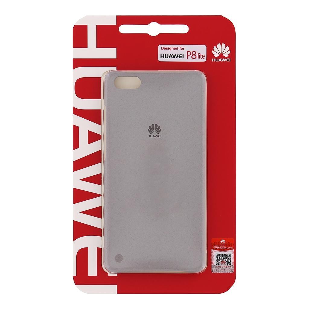 Originální zadní kryt pro Huawei P8 Lite, světle šedý - khaki