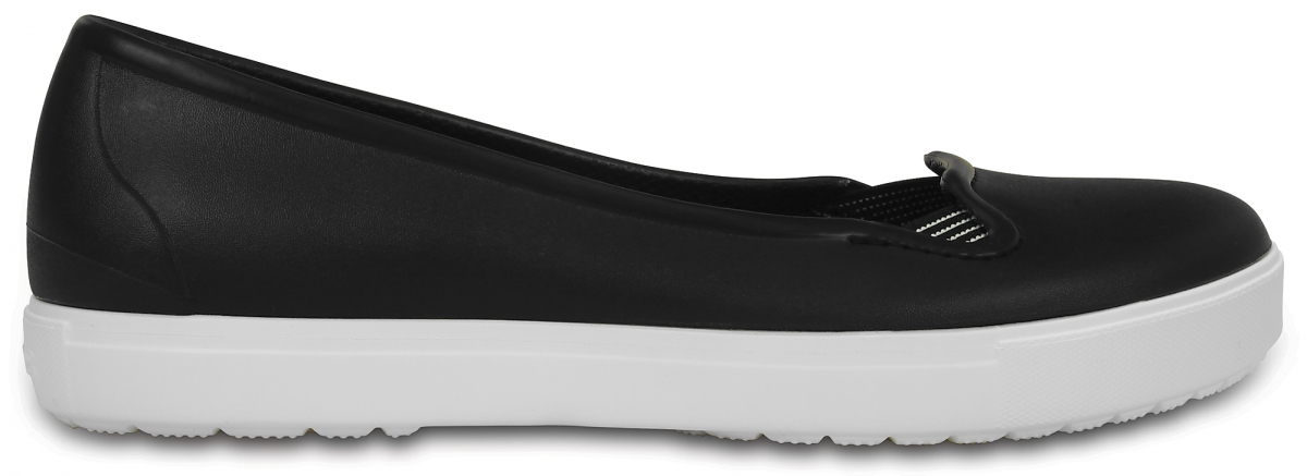 Crocs CitiLane Flat - Black/White, W9 (39-40)