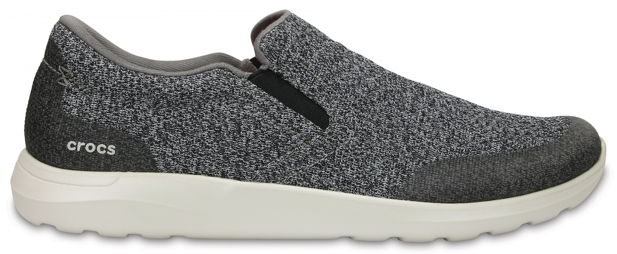 Crocs Kinsale Static Slip-on - Charcoal/Pearl White, M10 (43-44)