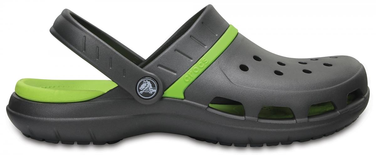 Crocs MODI Sport Clog - Graphite/Volt Green, M5/W7 (37-38)
