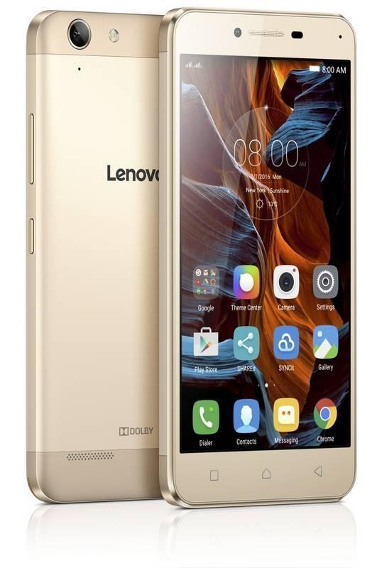 "Lenovo K5 Dual 5,0""OC/2GB/16GB/LTE/An5.1 gold PA2M0150CZ"