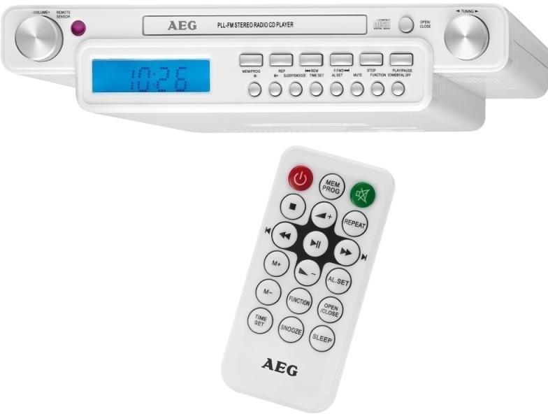 Kuchyňské rádio AEG KRC 4355 s CD přehrávačem