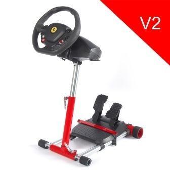 Wheel Stand Pro, stojan na volant a pedály pro Thrustmaster SPIDER, T80/T100,T150,F458/F430, červený F458 RED