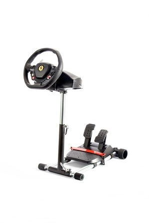 Wheel Stand Pro, stojan na volant a pedály pro Thrustmaster SPIDER, T80/T100, T150, F458/F430, černý F458 BLACK