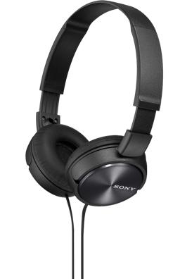 SONY sluchátka MDR-ZX310 - černá MDRZX310B.AE
