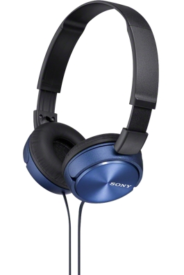 SONY sluchátka MDR-ZX310 modré MDRZX310L.AE