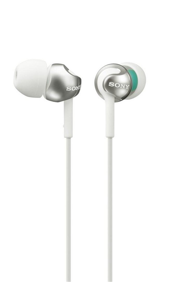 SONY sluchátka MDR-EX110LP - bílá MDREX110LPW.AE