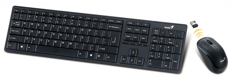 set GENIUS Slimstar 8000ME USB Black CZK+SK 31340045111