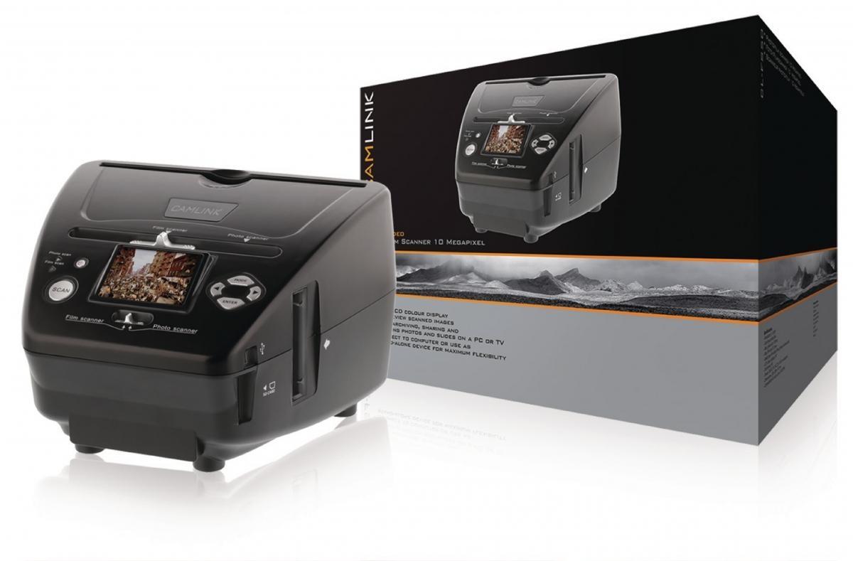 "Filmový skener Camlink CL-FS50, 10 MPixel, 2,4"" LCD"