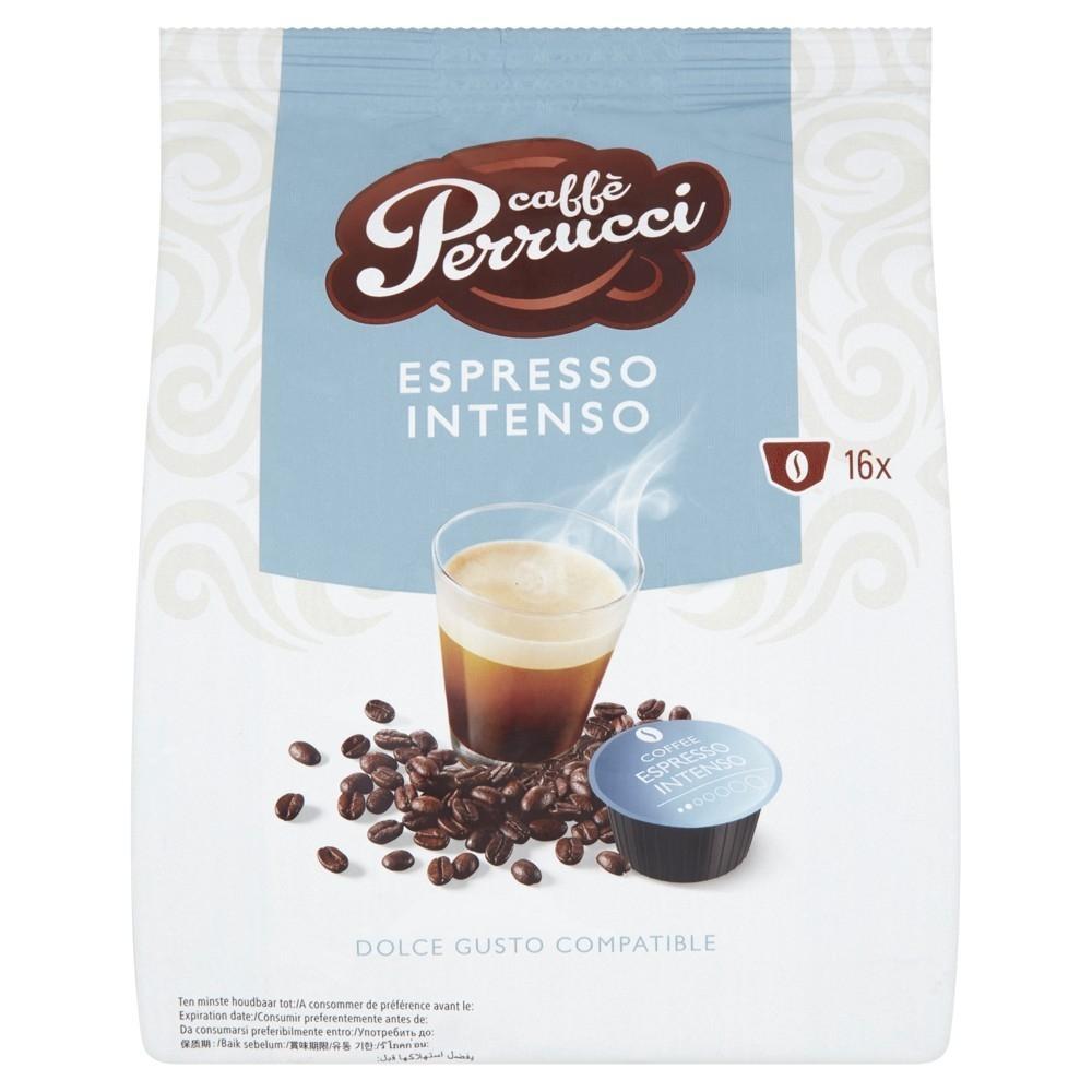 Kapsle Caffé Perrucci Espresso Intenso - do kávovarů Dolce Gusto